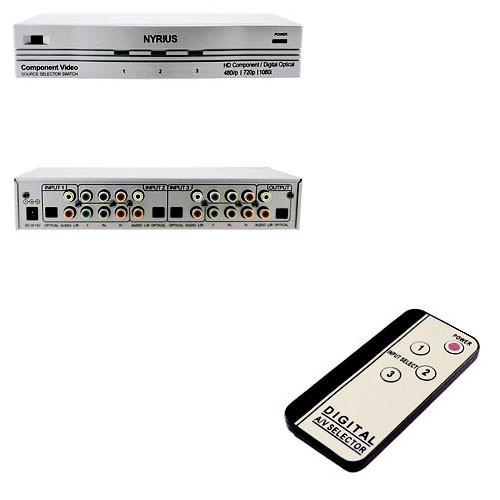 Svat SW201 HD-Ready Component Video Source Selector Switch