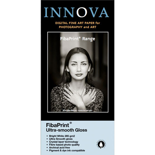 Innova FibaPrint Ultra-Smooth Glossy Inkjet Photo Paper (17x22