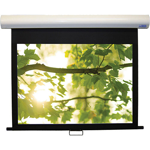Vutec 01-HD3050-089MW HD III Deluxe Manual Front Projection Screen (50.5 x 89