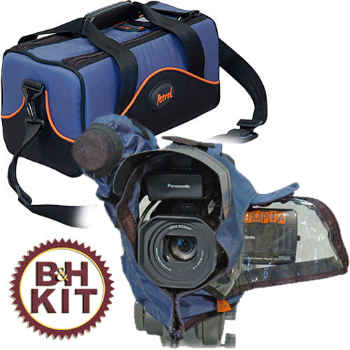 Petrol PMCCB1 Compact Camcorder Bag with PRC-MDV Rain Cover
