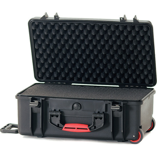 HPRC 2550WF Hard Case with Cubed Foam Interior (Black)