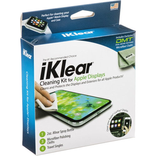 iKlear iPod, iPhone, MacBook & MacBook Pro Cleaning Kit, Model IK-IPOD
