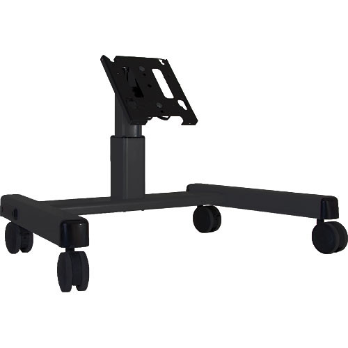 Chief MFQ-UB Confidence Monitor Cart (Black)