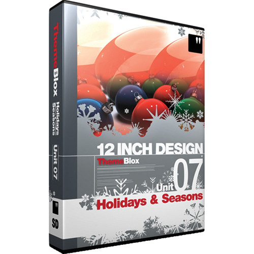 12 Inch Design ThemeBlox Unit 07 SD - Holidays and Seasons