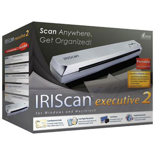 IRIS IRISCan Executive 2 Portable Color Sheetfeed Scanner