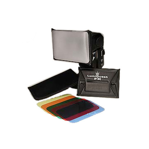 LumiQuest FX Color Gel System (5-Filters and Holder)