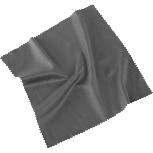 Pearstone Microfiber Cleaning Cloth, 18% Gray (7 x 7.9