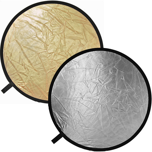 Impact Reflector Disc, Collapsible - Gold, Silver - 52