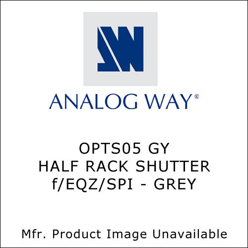 Analog Way Half Rack Shutter (Gray)