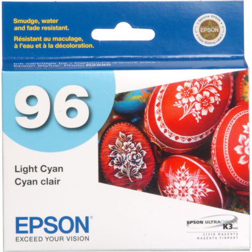 Epson 96 UltraChrome K3 Light Cyan Ink Cartridge
