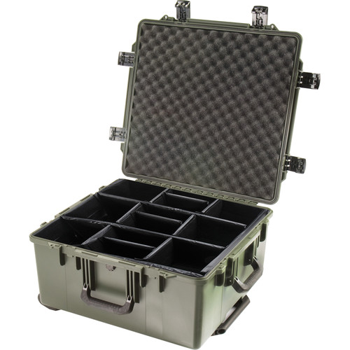 Pelican iM2875 Storm Trak Case with Padded Dividers (Olive Drab)