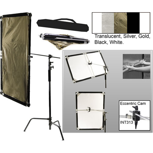 Interfit Flexi-Lite 5-in-1 Panel-Boom Stand Kit