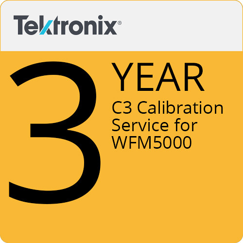 Tektronix C3 Calibration Service for WFM5000