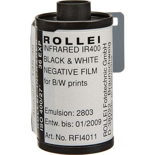 Rollei/AGFA 135-36 Infrared Black and White Film (Negative) (20 Pack)