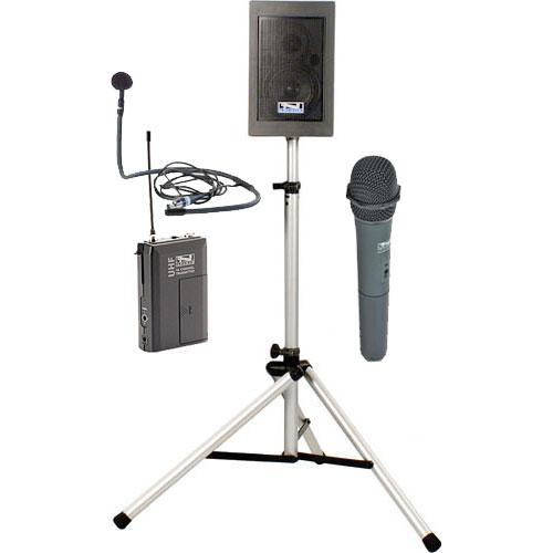 Anchor Audio EBP-7500 Explorer Basic Package with Handheld Mic & Collar Mic