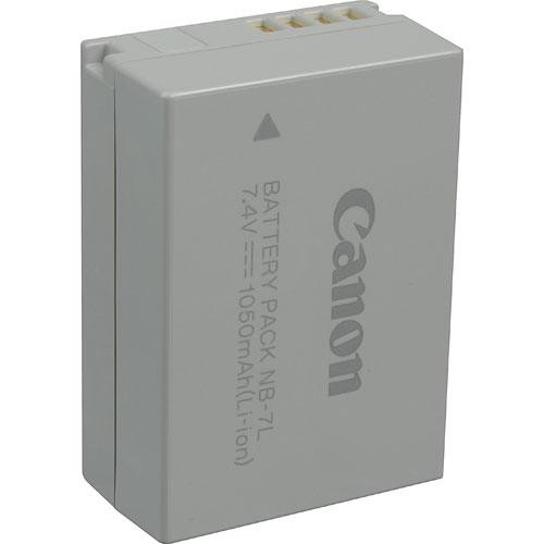 Canon NB-7L Lithium-Ion Battery Pack (7.4V, 1050mAh)