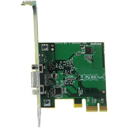 matrox mini pcie card for desktop computers