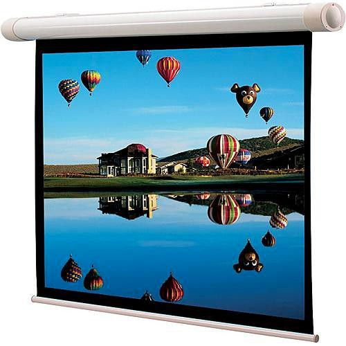 Draper 137100 Salara/M Manual Front Projection Screen With Auto Return (31.75 x 56.5