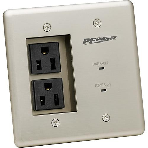 Furman MIW 2-Outlet Faceplate