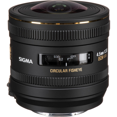 Sigma 4.5mm f/2.8 EX DC HSM Lens for Sony Alpha SLR