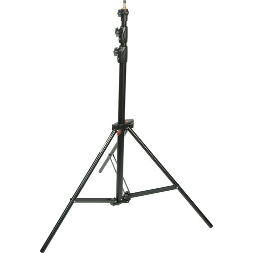 Manfrotto 1005BAC Alu Ranker Light Stand, Air Cushioned - 9' (Black)