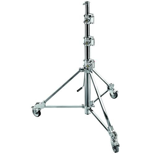 Avenger B7047CS 15.3' Strato Safe 47 Stand with Braked Wheels (Chrome-plated)