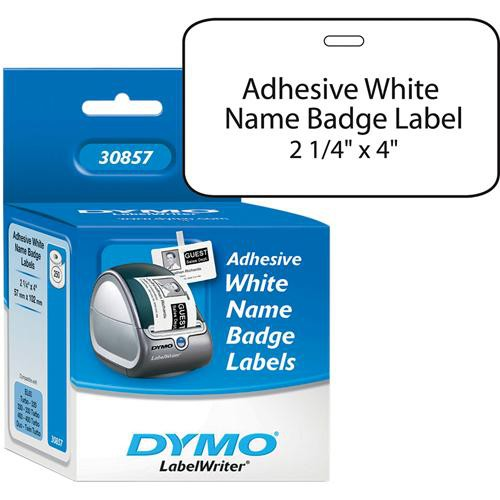 Dymo Badge with Adhesive Labels (2 1/4 x  4