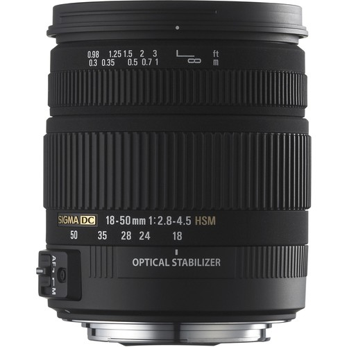 Sigma 18-50mm f/2.8-4.5 DC OS HSM Zoom For Sony