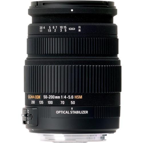 Sigma 50-200mm f/4-5.6 DC HSM Lens