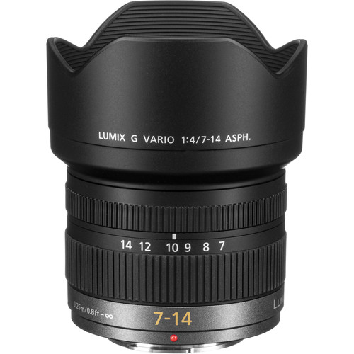 Panasonic Lumix G Vario 7-14mm f/4.0 ASPH. Lens - Micro Four Thirds Format