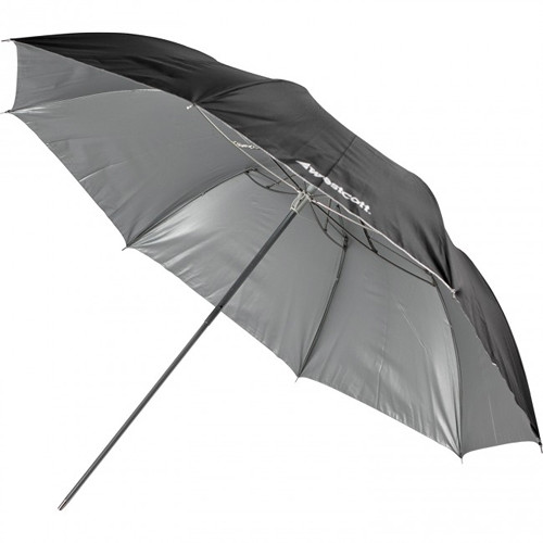 Westcott Umbrella - Soft Silver, Collapsible Compact - 43