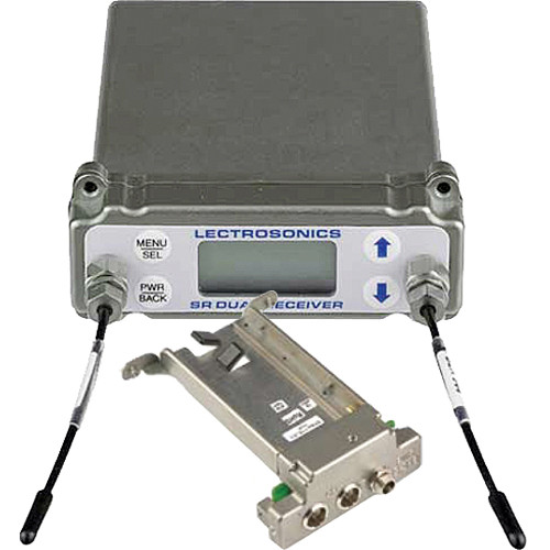 Lectrosonics SRb5P Dual-Channel Slot Mount Wireless ENG Receiver Kit with Top Mounted BATTSLED