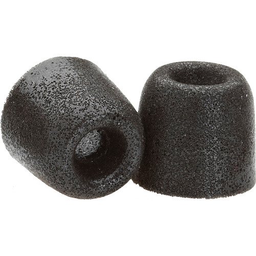 Hearing Components Comply Tx-100 Foam Tips (Black) (Small/Medium/Large-1 Pair of Each Size)