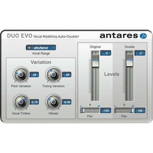 Antares Audio Technologies DUO Evo - Vocal Modeling Auto-Doubler Plug-In