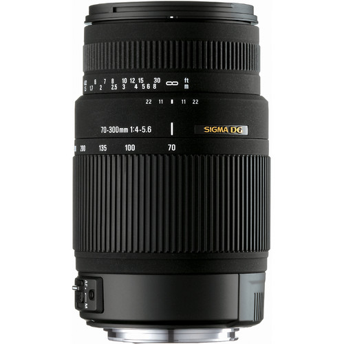 Sigma 70-300mm f/4-5.6 DG OS Telephoto Zoom for Sony