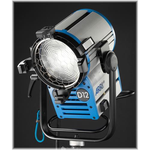 Arri True Blue D12 HMI 1200W Fresnel Head (Black)