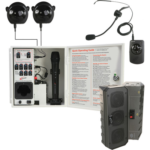 Califone PA-IRSYS Installed Infrared Audio System