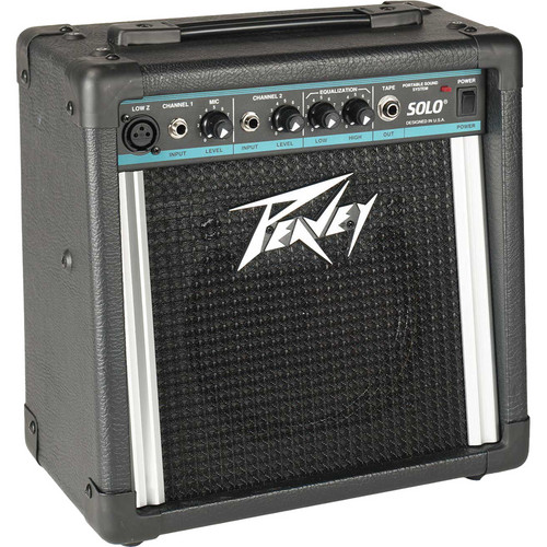 Peavey Solo Portable Battery-Powered PA/Amplifier