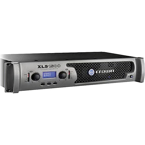 Crown Audio XLS 1500 DriveCore Stereo Power Amplifier (300W/Channel @ 8 Ohms)