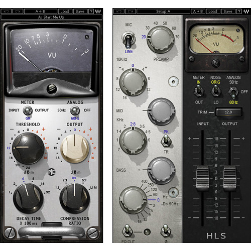 Waves Pie Compressor + HLS Channel - Compressor, EQ Bundle (TDM)