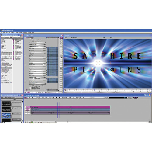 Genarts Sapphire for Avid Plug-In v3 (Single License)