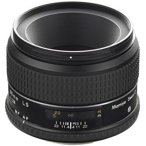 Mamiya Sekor 80mm f/2.8 LS D Lens for 645DF (only) Series Cameras