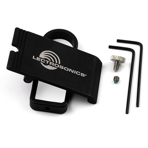 Lectrosonics SMBCUPSL Hinged Belt Clip for Single Battery SM Transmitters (Up Facing Connectors, Blue)