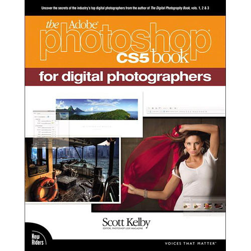Pearson Education Book: The Adobe Photoshop CS5 Book for Digital Photographers by Scott Kelby