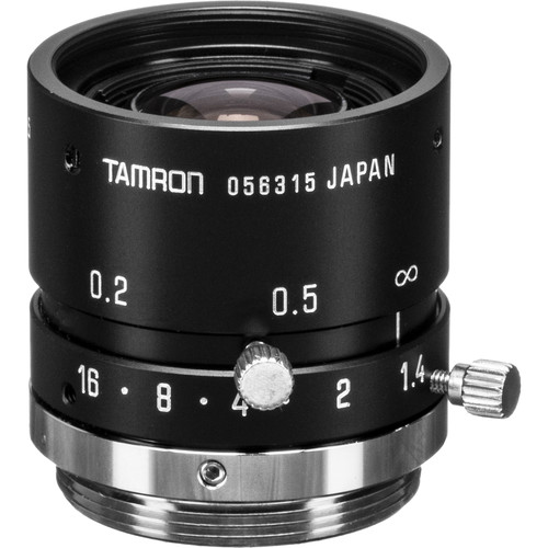 Tamron M118FM08 Mega-Pixel Fixed-Focal Industrial Lens (8mm)