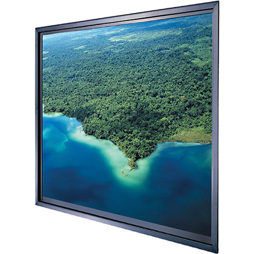 Da-Lite Polacoat Da-Glas In-Wall Video Format Rear Projection Diffusion Screen (36 x 48 x 0.25