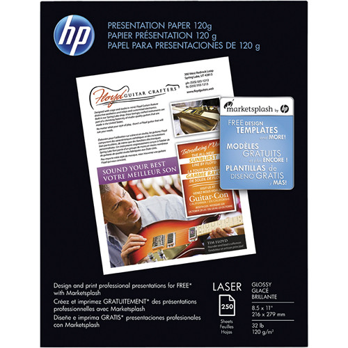 HP HP Premium Glossy Presentation Paper (Letter)