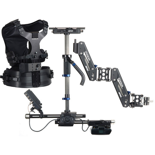 Steadicam Zephyr Camera Stabilizer with HD Monitor (AB Battery Mount, Compact Vest)