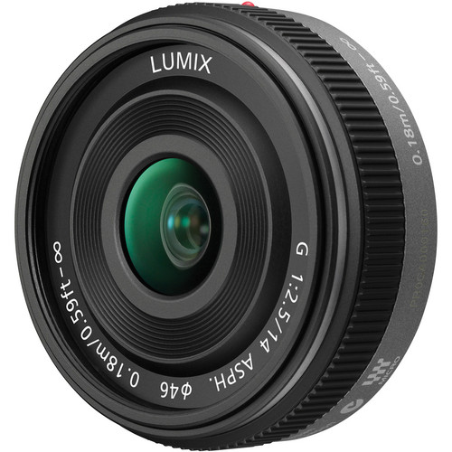 Panasonic Lumix G 14mm f/2.5 ASPH Lens