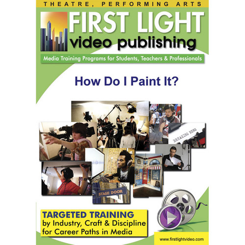 First Light Video CDROM: How Do I Paint It?